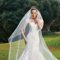 Wedding Dresses, Lace, A-line, Cap sleeves, Beading, Corset, Sophia Tolli, bridal fashion, lace applique