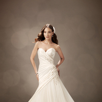 Wedding Dresses, Corset, Tulle, Satin, Embroidery, Chapel, Sophia Tolli, Ethereal, bridal fashion