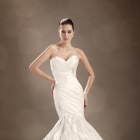 Wedding Dresses, Mermaid, Sweetheart, Strapless, Corset, Tulle, Chapel, Organza, Sophia Tolli, bridal fashion