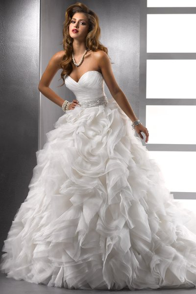 Wedding Dresses, Sweetheart Wedding Dresses, Ball Gown Wedding Dresses, Ruffled Wedding Dresses, Fashion, white, ivory, Sweetheart, Strapless, Strapless Wedding Dresses, Beading, Tulle, Floor, Formal, Organza, Natural, Ballroom, Ruffles, Ruching, Ball gown, Sottero & Midgley, Sash/Belt, Beaded Wedding Dresses, organza wedding dresses, tulle wedding dresses, Formal Wedding Dresses, Floor Wedding Dresses, Sash Wedding Dresses, Belt Wedding Dresses