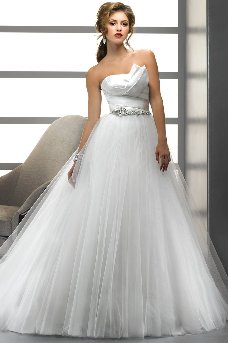 Wedding Dresses, Ball Gown Wedding Dresses, Fashion, white, Modern, Strapless, Strapless Wedding Dresses, Beading, Tulle, Satin, Floor, Formal, Natural, Ballroom, Pleats, Ball gown, Sottero & Midgley, Sash/Belt, Modern Wedding Dresses, Beaded Wedding Dresses, tulle wedding dresses, satin wedding dresses, Formal Wedding Dresses, Floor Wedding Dresses, Sash Wedding Dresses, Belt Wedding Dresses