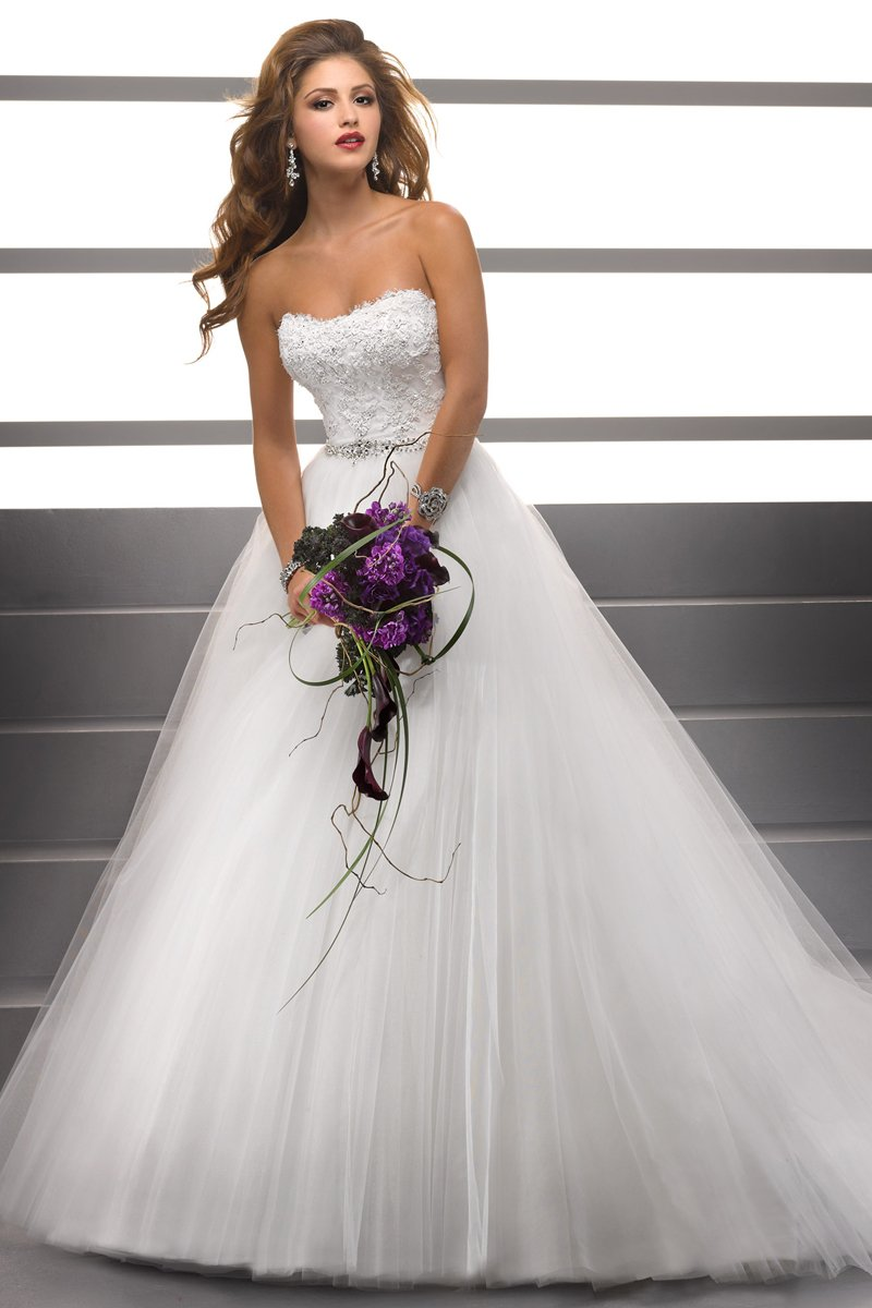Wedding Dresses, Ball Gown Wedding Dresses, Lace Wedding Dresses, Romantic Wedding Dresses, Fashion, white, Summer, Classic, Romantic, Lace, Strapless, Strapless Wedding Dresses, Beading, Tulle, Floor, Formal, Ballroom, Ball gown, Sottero & Midgley, historic site, Beaded Wedding Dresses, Classic Wedding Dresses, tulle wedding dresses, Formal Wedding Dresses, Summer Wedding Dresses, Floor Wedding Dresses