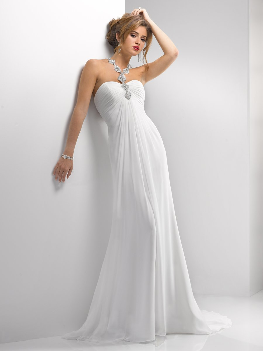 Wedding Dresses, Vintage Wedding Dresses, Fashion, white, ivory, silver, Vintage, Classic, Beading, Halter, Empire, Sheath, Floor, Chiffon, Sleeveless, Ruching, Sottero & Midgley, halter wedding dresses, Beaded Wedding Dresses, Classic Wedding Dresses, Sheath Wedding Dresses, Chiffon Wedding Dresses, Floor Wedding Dresses
