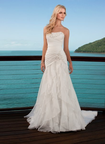 Stella York, Wedding Dresses, Fashion, A-line, Beach, Beading, Boho Chic, Dropped, Floor, Formal, ivory, Modern, Organza, Romantic, Ruffles, Sleeveless, Strapless, Sweetheart, white, Strapless Wedding Dresses, Sweetheart Wedding Dresses, Floor Wedding Dresses, Beaded Wedding Dresses, Ruffled Wedding Dresses, organza wedding dresses, Beach Wedding Dresses, Boho Chic Wedding Dresses, Formal Wedding Dresses, Modern Wedding Dresses, Romantic Wedding Dresses, A-line Wedding Dresses