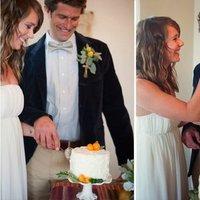 white, ivory, orange, Summer Weddings, Boho Chic Weddings, Rustic Weddings