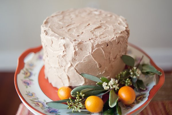 Cakes, orange, Round Wedding Cakes, Summer Wedding Cakes, Wedding Cakes, Summer Weddings, Boho Chic Weddings, Rustic Weddings