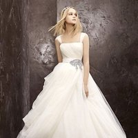Wedding Dresses, Ball Gown Wedding Dresses, Fashion, white, ivory, Vera wang, Off the shoulder, Beading, Tulle, Floor, Ruching, Ball gown, White by vera wang, Off the Shoulder Wedding Dresses, Beaded Wedding Dresses, tulle wedding dresses, Floor Wedding Dresses