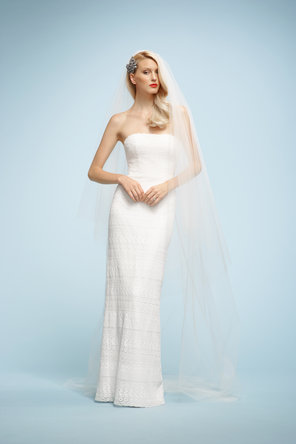 Wedding Dresses, Lace Wedding Dresses, Fashion, ivory, Classic, Lace, Strapless, Strapless Wedding Dresses, Sleeveless, Watters bridal, floor length, Classic Wedding Dresses
