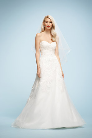 Wedding Dresses, Sweetheart Wedding Dresses, A-line Wedding Dresses, Fashion, ivory, Sweetheart, Strapless, Strapless Wedding Dresses, A-line, Chapel, Taffeta, Sleeveless, Watters bridal, floor length, taffeta wedding dresses