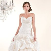 Wedding Dresses, Sweetheart Wedding Dresses, A-line Wedding Dresses, Ball Gown Wedding Dresses, Romantic Wedding Dresses, Fashion, white, ivory, Romantic, Sweetheart, Strapless, Strapless Wedding Dresses, A-line, Beading, Satin, Floor, Formal, Silk, Pleats, Pick-ups, Sleeveless, Ball gown, Beaded Wedding Dresses, Winnie Chlomin Diamond Label, satin wedding dresses, Formal Wedding Dresses, Silk Wedding Dresses, Floor Wedding Dresses