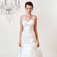 Wedding Dresses, Sweetheart Wedding Dresses, Mermaid Wedding Dresses, Ruffled Wedding Dresses, Fashion, white, ivory, Modern, Flowers, Sweetheart, Strapless, Strapless Wedding Dresses, Satin, Floor, Formal, Organza, Silk, Ruffles, Sleeveless, Ruching, Fit-n-Flare, Modern Wedding Dresses, organza wedding dresses, Winnie Chlomin Diamond Label, satin wedding dresses, Flower Wedding Dresses, Formal Wedding Dresses, Silk Wedding Dresses, Floor Wedding Dresses