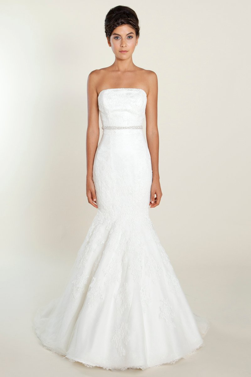 Wedding Dresses, Sweetheart Wedding Dresses, A-line Wedding Dresses, Romantic Wedding Dresses, Fashion, white, ivory, Shabby Chic, Romantic, Sweetheart, Strapless, Strapless Wedding Dresses, A-line, Floor, Formal, Natural, Silk, Sleeveless, Sash/Belt, Nautical/Preppy, Winnie Chlomin Diamond Label, Formal Wedding Dresses, Silk Wedding Dresses, Floor Wedding Dresses, Shabby Chic Wedding Dresses, Sash Wedding Dresses, Belt Wedding Dresses
