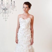 Wedding Dresses, Sweetheart Wedding Dresses, A-line Wedding Dresses, Ruffled Wedding Dresses, Fashion, white, ivory, Feathers, Rustic, Flowers, Shabby Chic, Sweetheart, Strapless, Strapless Wedding Dresses, A-line, Tulle, Satin, Organza, Silk, Ruffles, Sleeveless, rustic wedding dresses, organza wedding dresses, tulle wedding dresses, Winnie Chlomin Diamond Label, satin wedding dresses, Flower Wedding Dresses, Feather Wedding Dresses, Silk Wedding Dresses, Shabby Chic Wedding Dresses