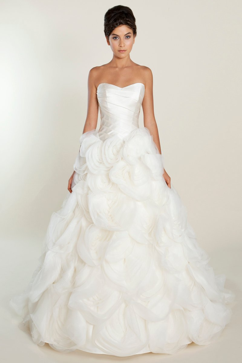 Wedding Dresses, Sweetheart Wedding Dresses, Ball Gown Wedding Dresses, Ruffled Wedding Dresses, Hollywood Glam Wedding Dresses, Fashion, white, ivory, Spring, Summer, Shabby Chic, Sweetheart, Strapless, Strapless Wedding Dresses, Floor, Formal, Organza, Ruffles, Hip, Sleeveless, Ball gown, hollywood glam, organza wedding dresses, Spring Wedding Dresses, Winnie Chlomin Diamond Label, Formal Wedding Dresses, Summer Wedding Dresses, Floor Wedding Dresses, Hip Wedding Dresses, Shabby Chic Wedding Dresses