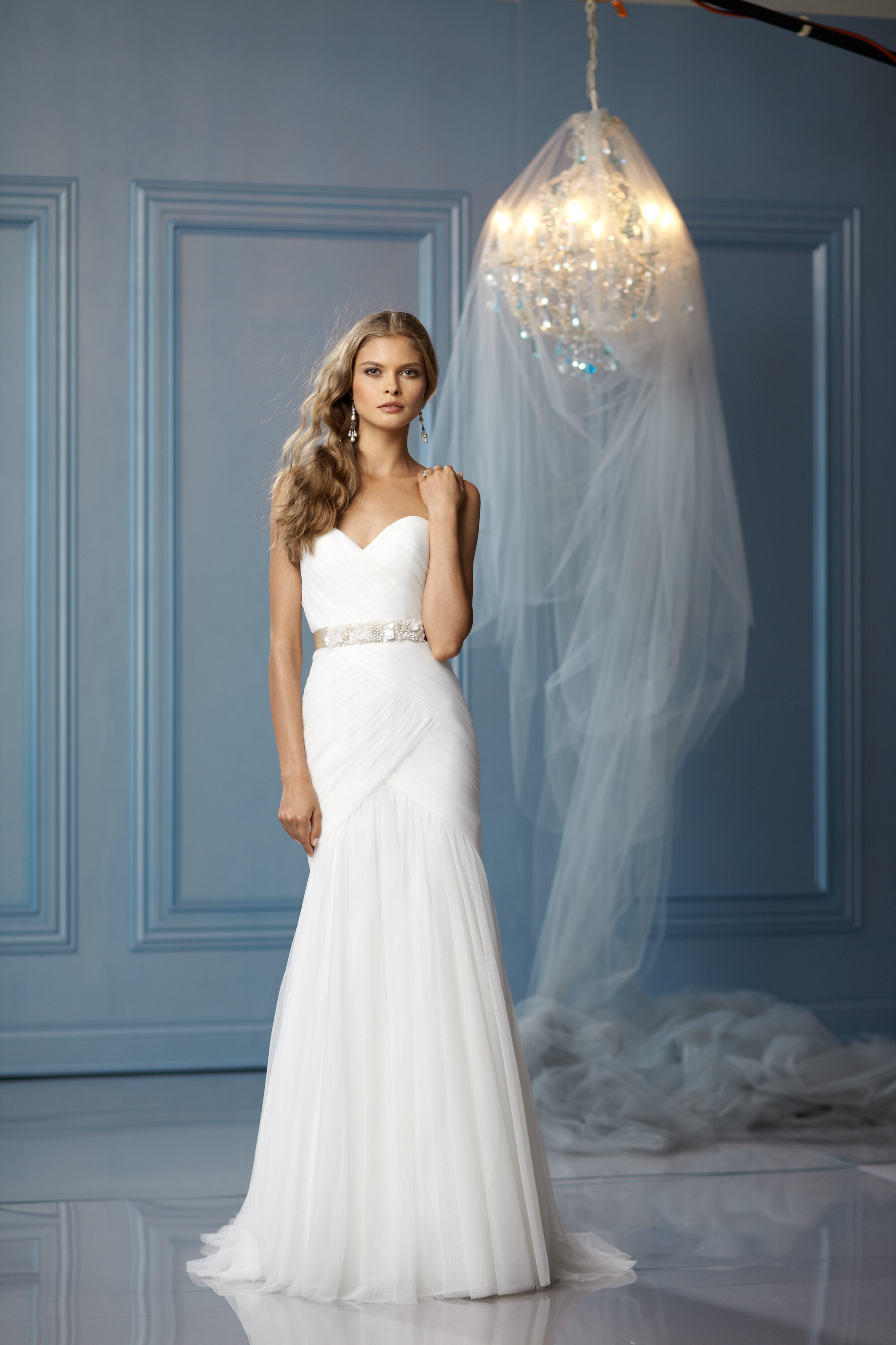 Sweetheart Wedding Dresses, Mermaid Wedding Dresses, Romantic Wedding Dresses, Fashion, white, ivory, Spring, Summer, Boho Chic, Romantic, Sweetheart, Strapless, Strapless Wedding Dresses, Tulle, Floor, Wedding dress, Silk, Dropped, Sleeveless, Ruching, Mermaid/Trumpet, Sash/Belt, Fit-n-Flare, trumpet wedding dresses, Boho Chic Wedding Dresses, Spring Wedding Dresses, tulle wedding dresses, Wtoo Brides, Silk Wedding Dresses, Summer Wedding Dresses, Floor Wedding Dresses, Sash Wedding Dresses, Belt Wedding Dresses