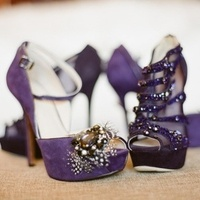 Shoes, purple