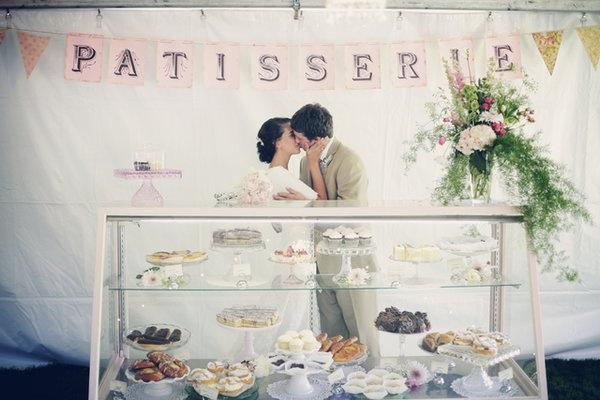 Patisserie Dessert Display