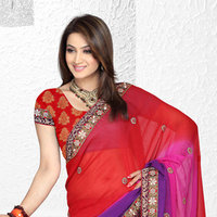indian bridal lehengas Style Saree