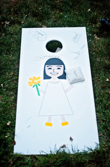 Corn Hole Guest Book