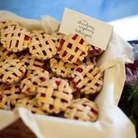 Mini Strawberry Raspberry Pies