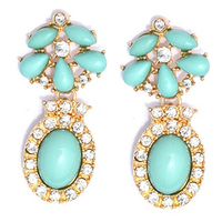 Mint Wedding Earrings We Adore