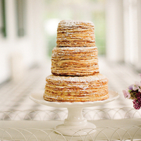 Crepe Wedding Cake