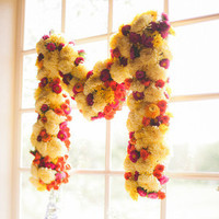 Floral Monogram Decor
