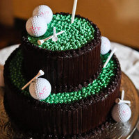 Golf-Themed Groom's Cake