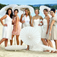 1376056928 small thumb white parasols   real wedding in sandals negril