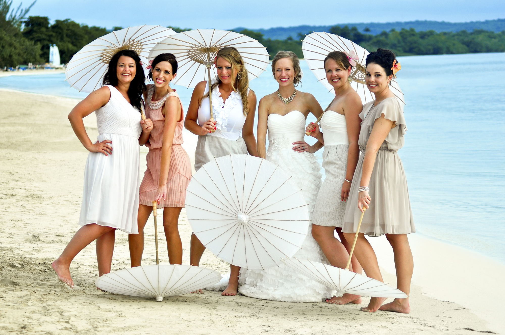 Real Wedding in Sandals Negril