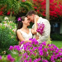 Real Wedding in the Garden of Beaches Turks & Caicos
