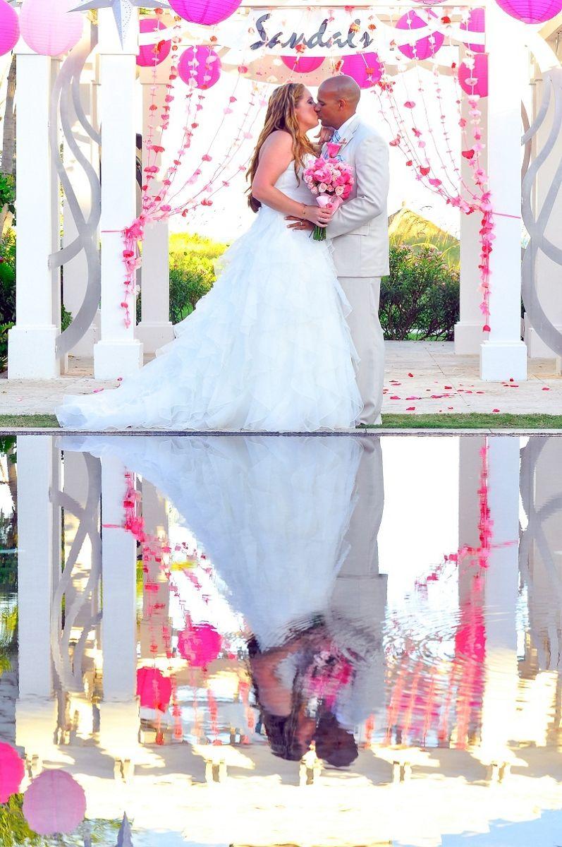Real Wedding at Sandals Emerald Bay Exumas Bahamas