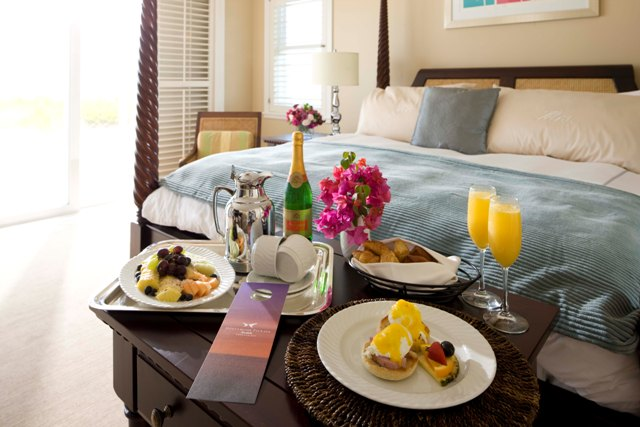 Mimosa Breakfast in Bed
