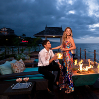 Romance and Luxury by the Fire Pits