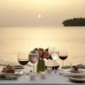 1376058178 thumb romantic sunset candle light dinner
