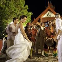 Private Island Destination Wedding Reception at Sandals Royal Caribbean in Jamaica
