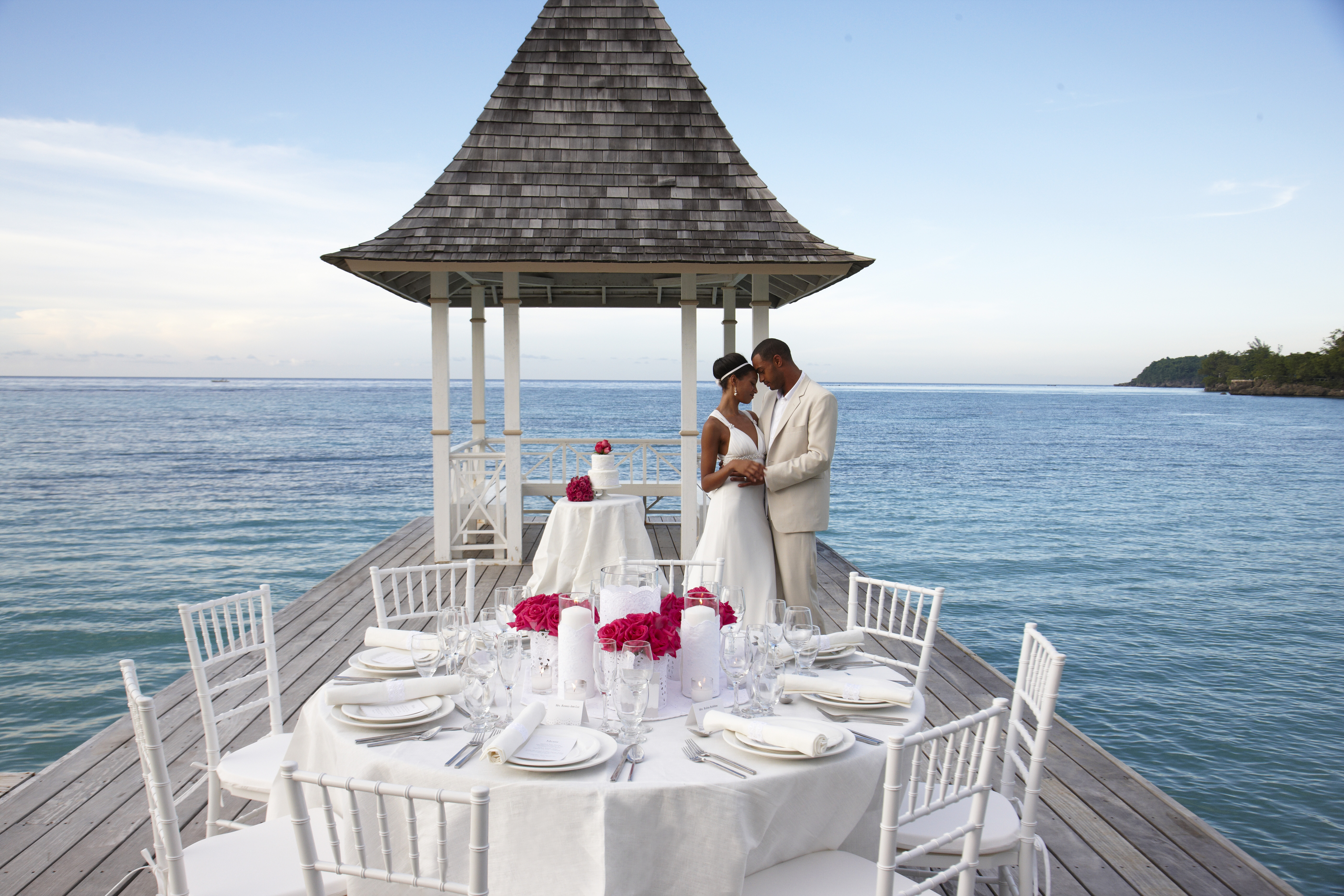 Unique Wedding Gazebo at Sandals Royal Plantation