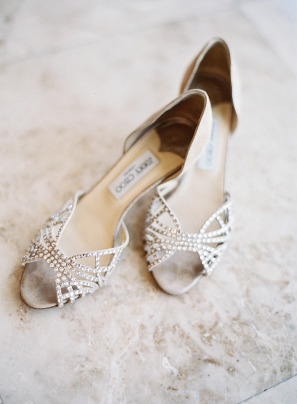 Shoes, Destinations, Real Weddings, Wedding Style, Destination Weddings, Classic Real Weddings, Summer Real Weddings, Classic Weddings, wedding shoes, Jimmy choo, Sparkly, Romantic Real Weddings, Romantic Weddings