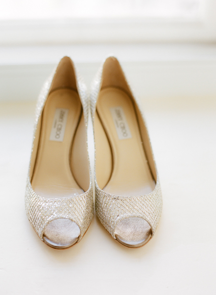 Real Weddings, Wedding Style, silver, Northeast Real Weddings, Modern Real Weddings, Winter Weddings, City Real Weddings, Winter Real Weddings, City Weddings, Modern Weddings, Bridal shoes, wedding shoes, Jimmy choo