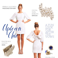 Uptown Chic Reception Outfit