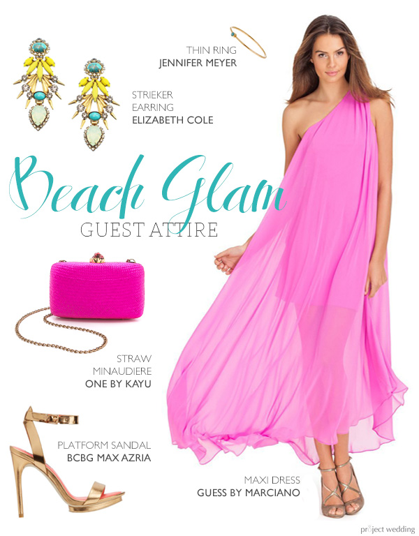 Beach glam wedding guest attire project wedding for How to dress for a beach wedding as a guest