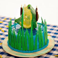 Fish Groom's Cake