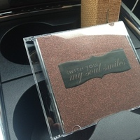 The CD I made with the potential songs.