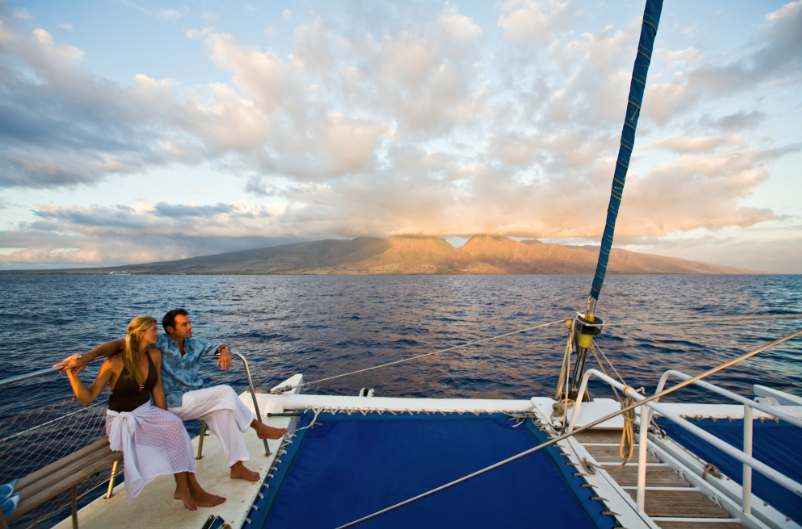 Maui Couple Sail