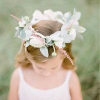 Flower Girl Wreath