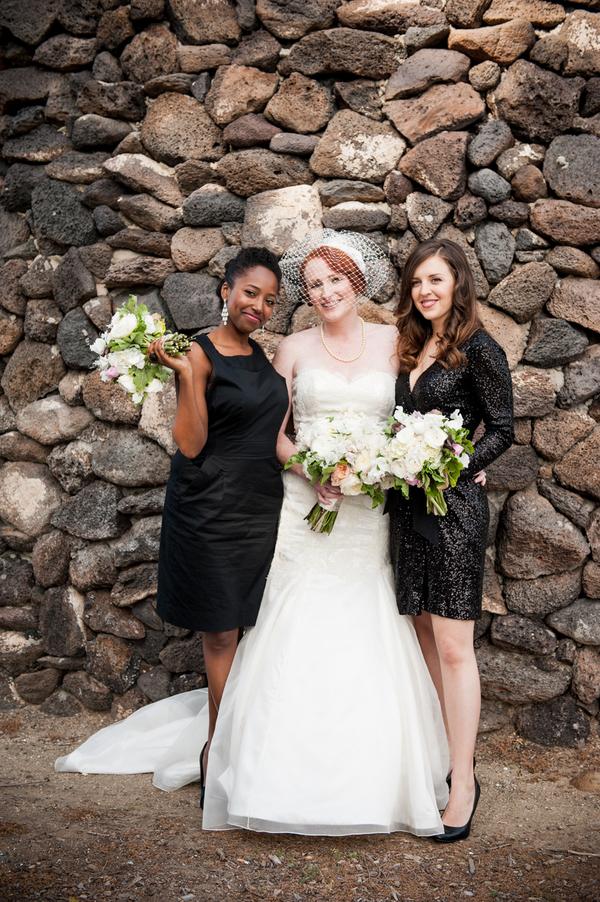 Glam Bridesmaids