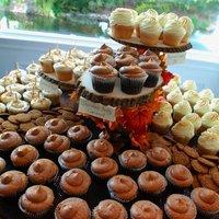 DIY: Fall Cupcake Stand
