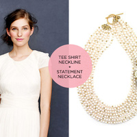 5 Fresh Jewelry and Neckline Pairings