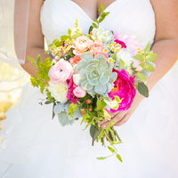 Beautiful Bride's Bouquet