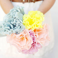 DIY: Crepe Paper Flower Bouquet
